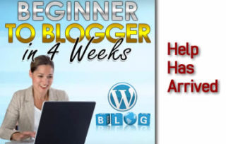 From Beginner To Blogger In 4 Weeks